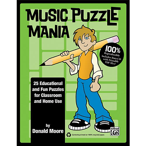 Alfred Music Puzzle Mania Book & CD thumbnail
