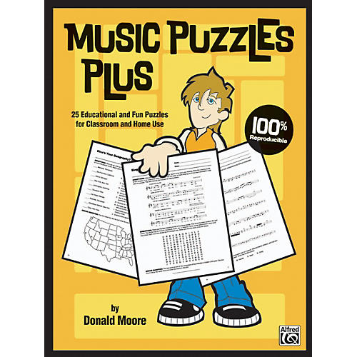 Alfred Music Puzzles Plus Book thumbnail
