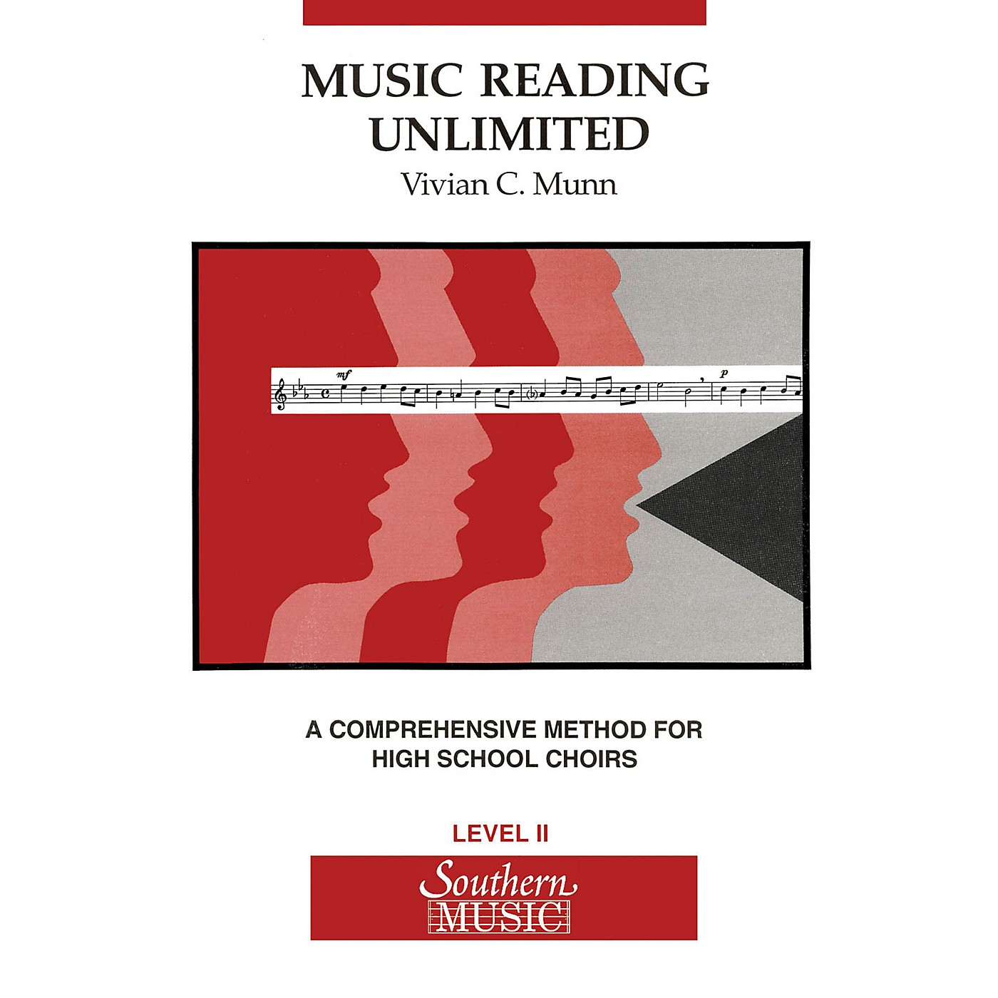 Southern Music Reading Unlimited (A Comprehensive Method for High School Choirs Level 2 Book (Stude) thumbnail