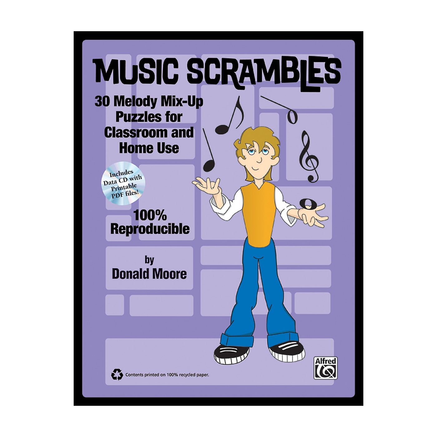 Alfred Music Scrambles Book & CD thumbnail