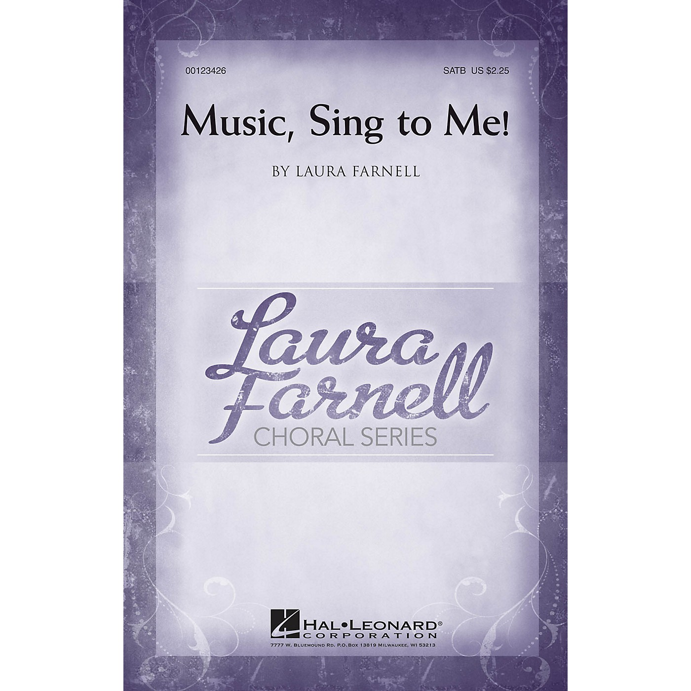 Hal Leonard Music, Sing to Me! SATB composed by Laura Farnell thumbnail