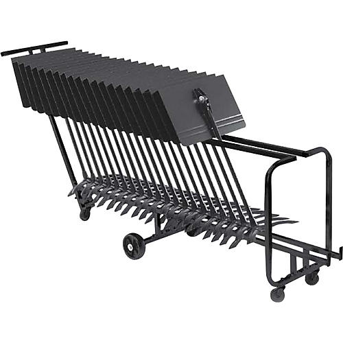 Manhasset Music Stand Storage Cart (Holds 25) thumbnail