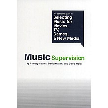 Schirmer Trade Music Supervision Omnibus Press Series Softcover Written by Ramsay Adams