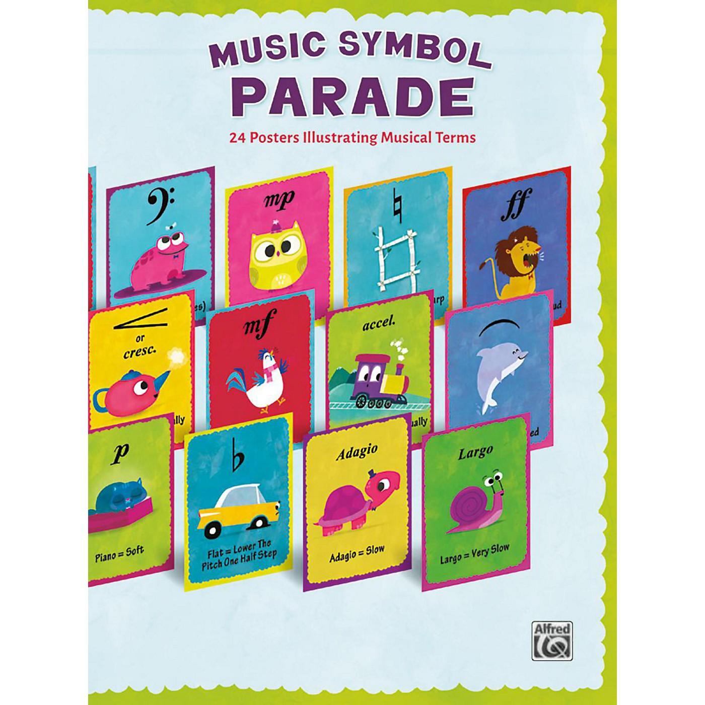 Alfred Music Symbol Parade 24-Poster Set thumbnail