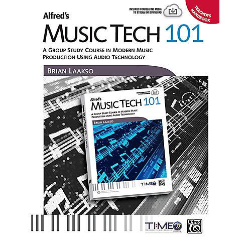 Alfred Music Tech 101 Teacher's Handbook thumbnail