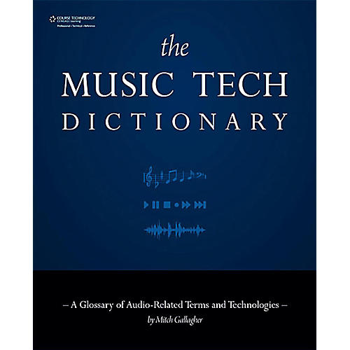 Cengage Learning Music Tech Dictionary-thumbnail