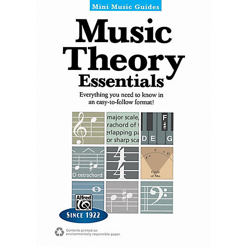 Alfred Music Theory Essentials Mini Music Guides Book thumbnail