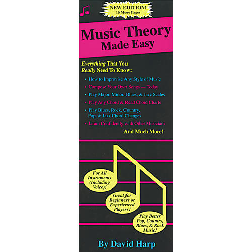 Music Sales Music Theory Made Easy Book thumbnail