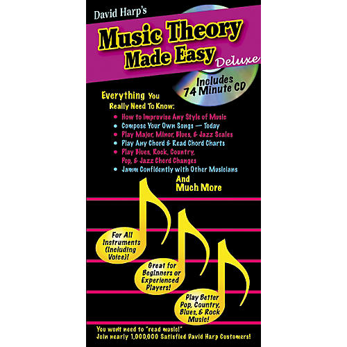 Music Sales Music Theory Made Easy Deluxe Book/CD-thumbnail