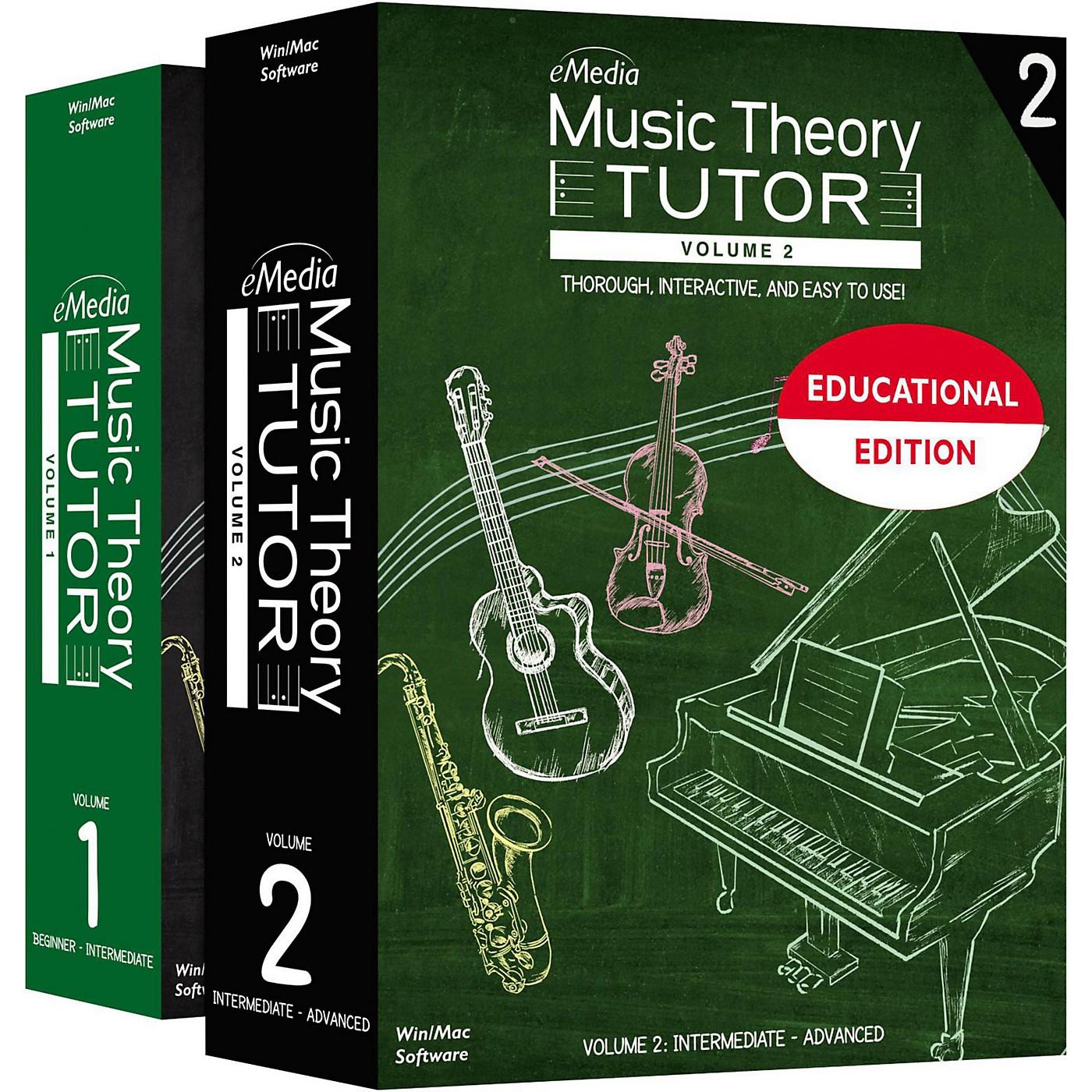 eMedia Music Theory Tutor Classroom License, 1- Computer, Teacher Presentation thumbnail