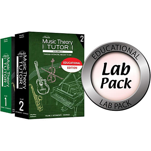 eMedia Music Theory Tutor Lab Pack for 20 Computers thumbnail