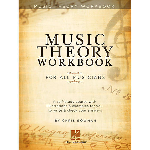 Hal Leonard Music Theory Workbook For All Musicians thumbnail
