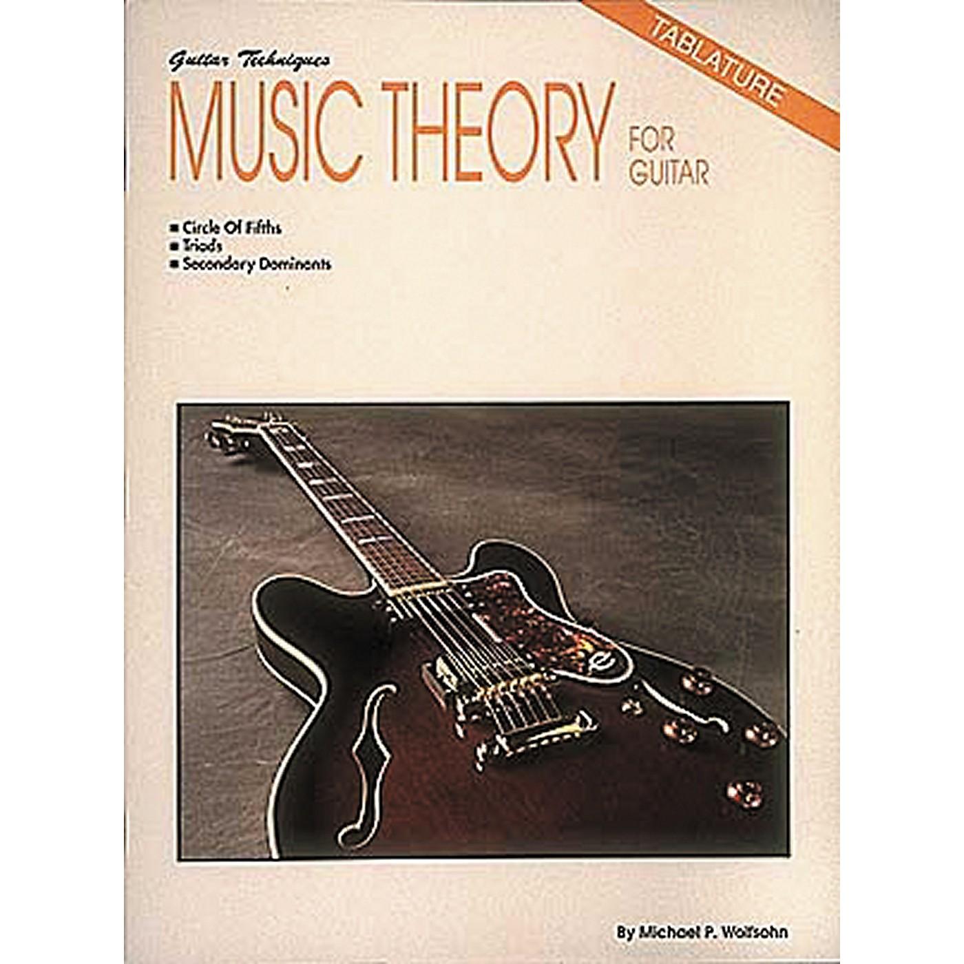 Hal Leonard Music Theory for Guitar Book thumbnail