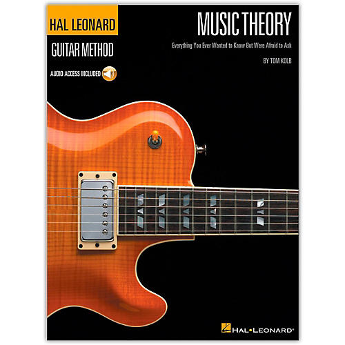 Hal Leonard Music Theory for Guitarists (Book and Online Audio Package) thumbnail