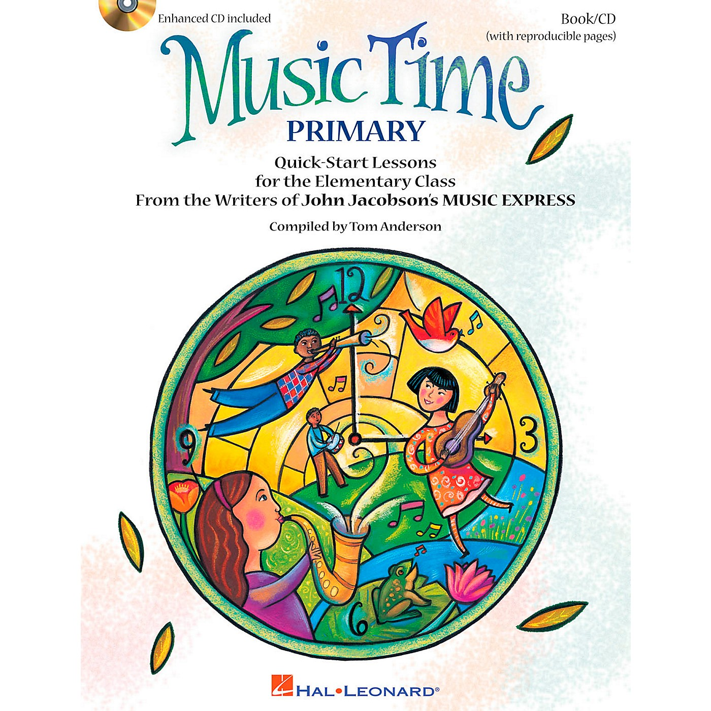 Hal Leonard Music Time:Primary - Quick Start Lessons for the Elementary Class Book/CD thumbnail