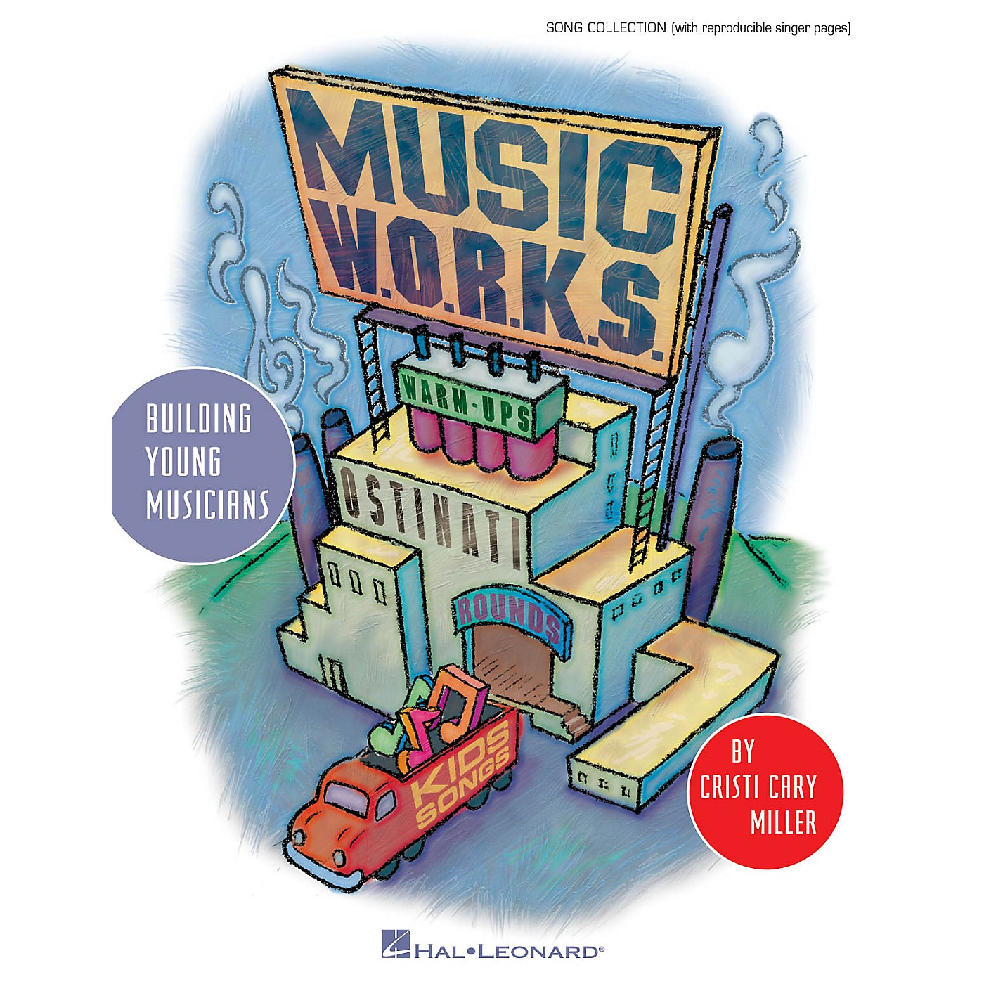 Hal Leonard Music W.O.R.K.S. (Warmups, Ostinati, Rounds and Kids' Songs) CLASSRM KIT Composed by Cristi Cary Miller thumbnail