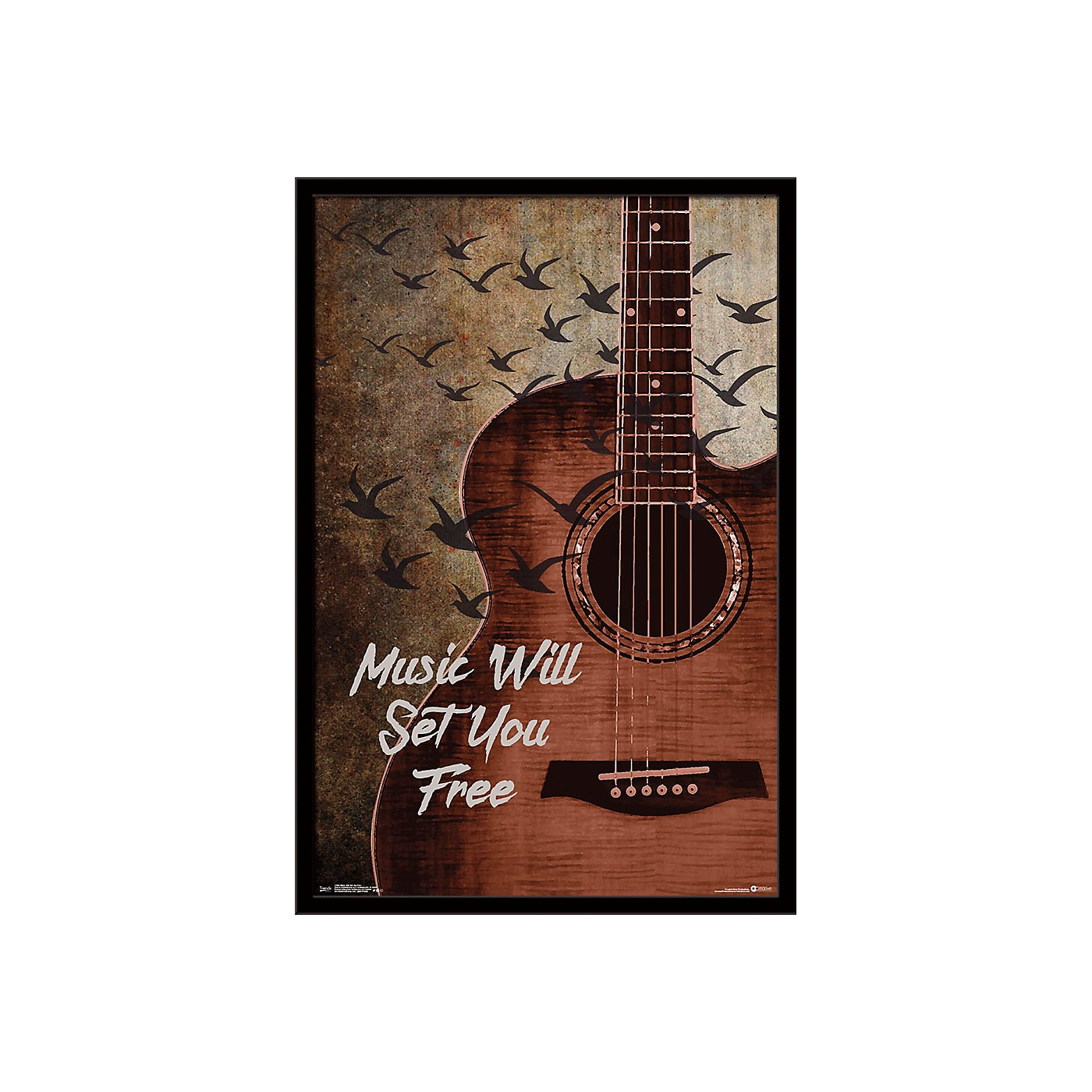 Trends International Music Will Set You Free Poster thumbnail