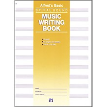 Alfred Music Writing Book (9 x 12) 10-Stave