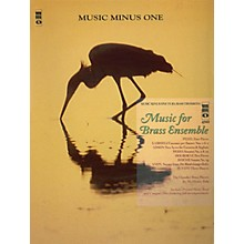 Music Minus One Music for Brass Ensemble (Music Minus One Tuba/Bass Trombone) Music Minus One Series Softcover with CD