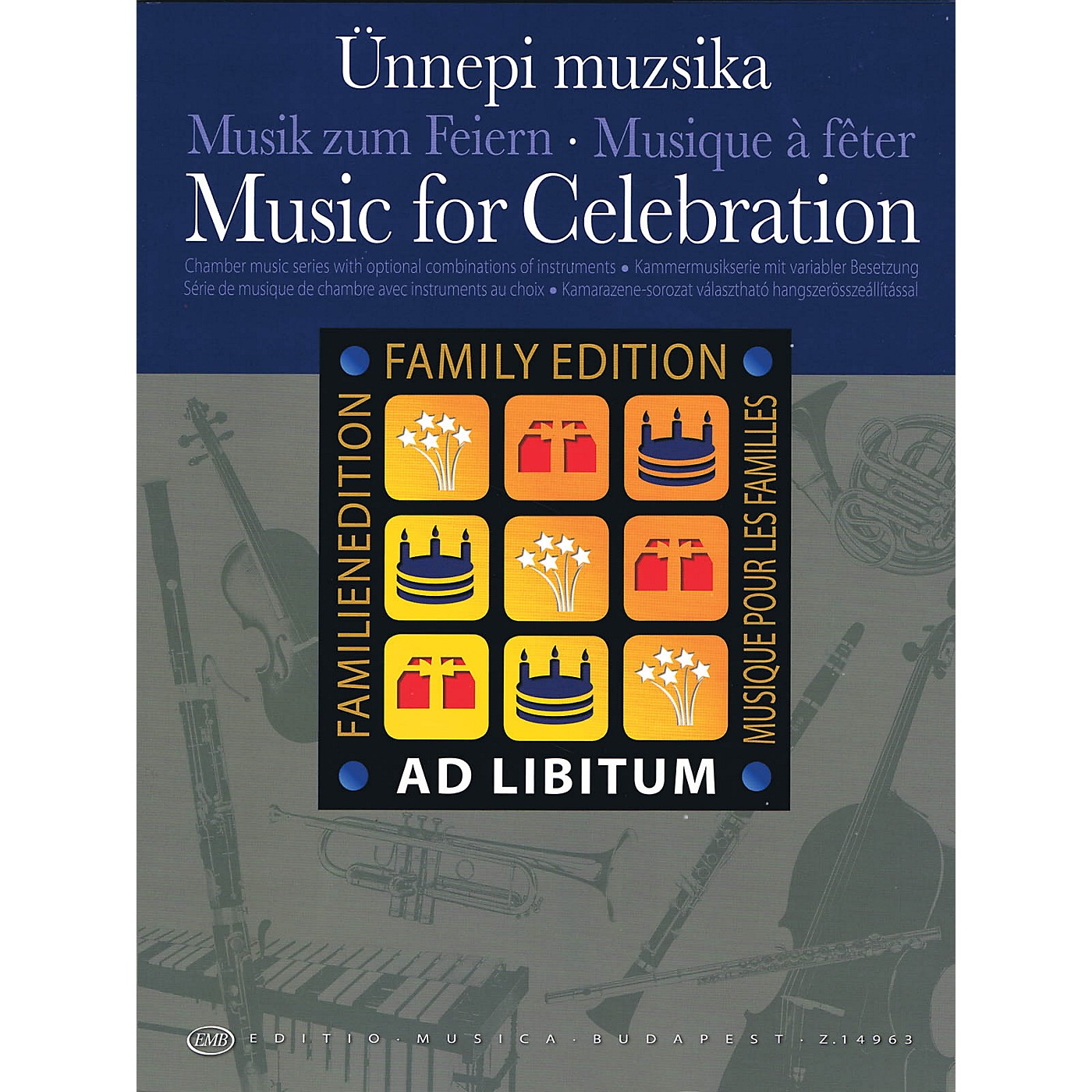 Editio Musica Budapest Music for Celebration EMB Series Softcover by Various thumbnail