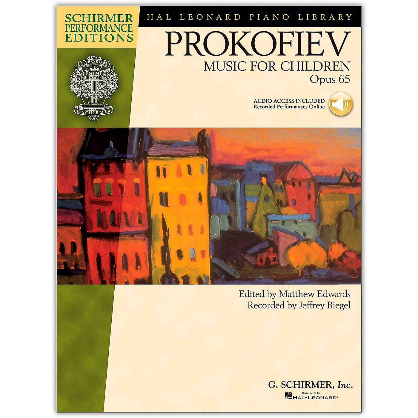 G. Schirmer Music for Children, Op. 65 Schirmer Performance Edition Book/Online Audio thumbnail