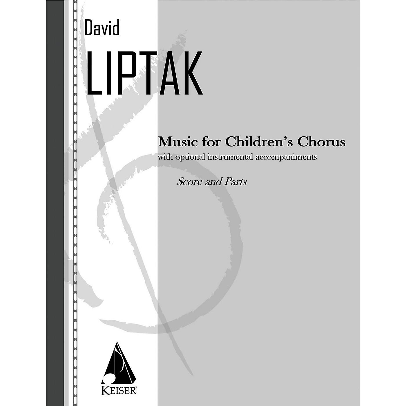 Lauren Keiser Music Publishing Music for Children's Chorus Score & Parts Composed by David Liptak thumbnail