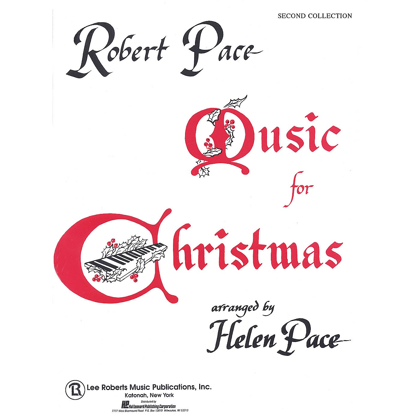Lee Roberts Music for Christmas - Book 2 Pace Piano Education Series thumbnail