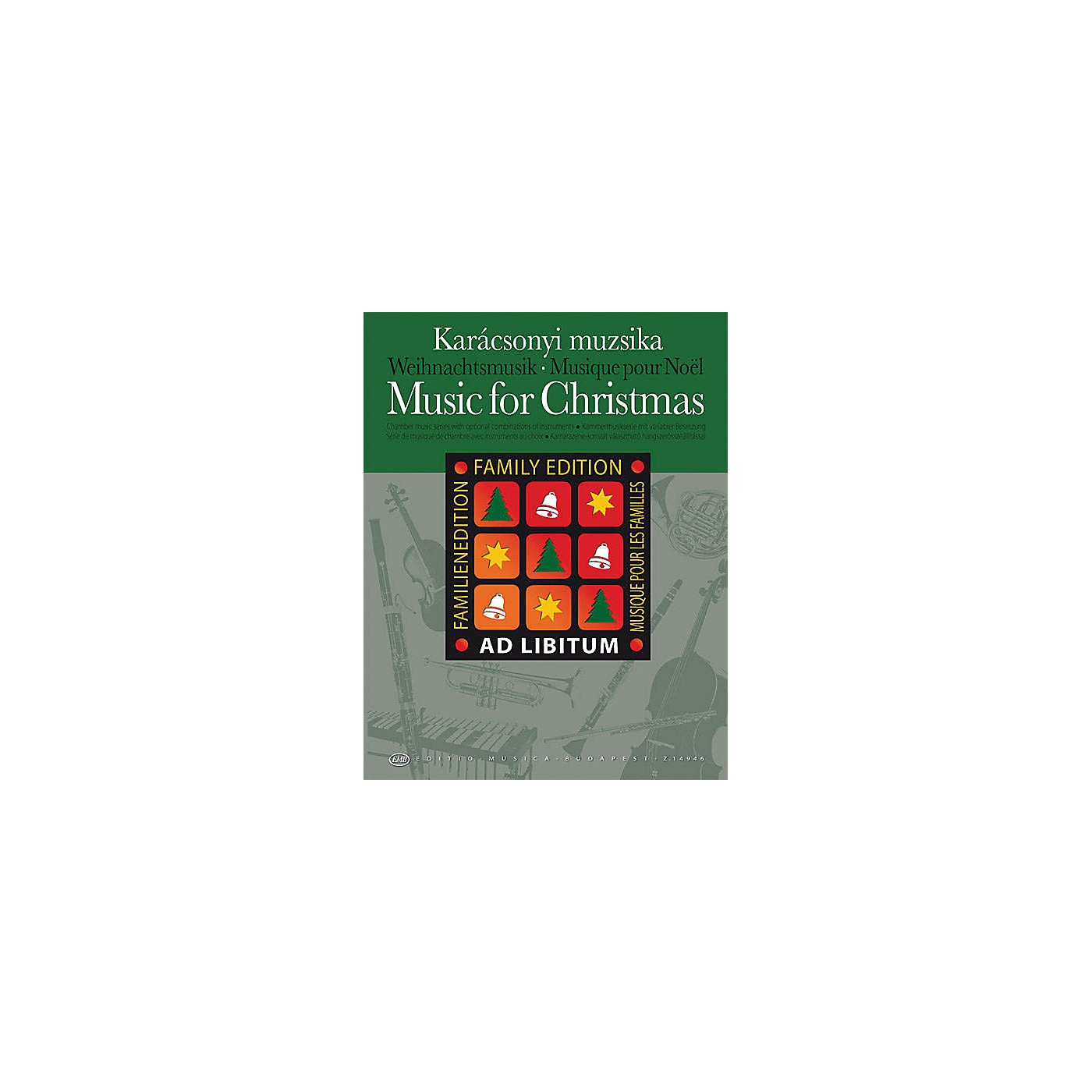 Hal Leonard Music for Christmas - Family Edition EMB Series by Various thumbnail
