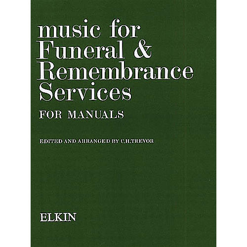 Novello Music for Funeral and Remembrance (Manual Organ) Music Sales America Series thumbnail
