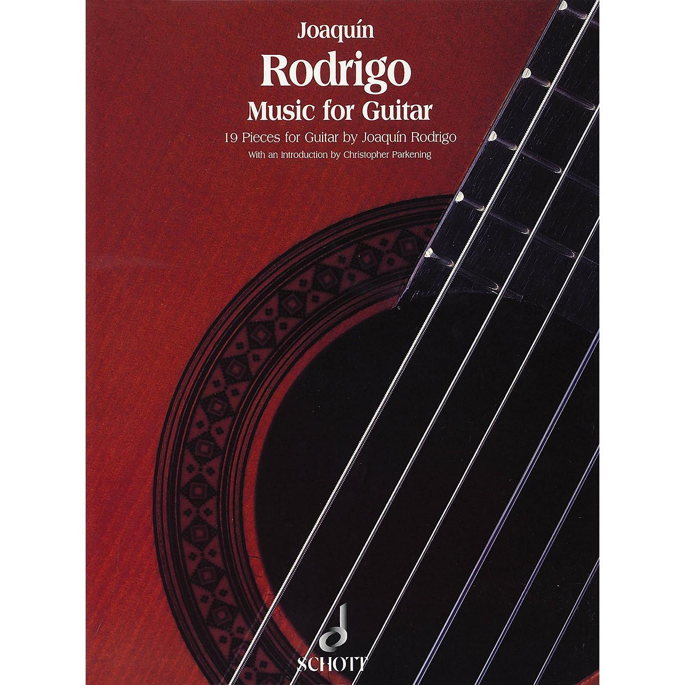 Schott Music for Guitar (19 Pieces) Schott Series thumbnail