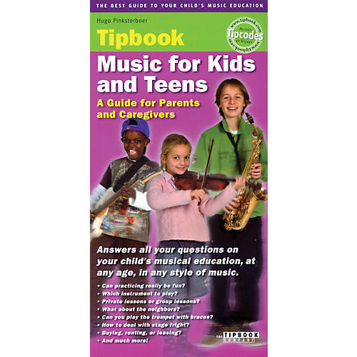 The Tipbook Company Music for Kids and Teens Tipbook Book Series Softcover Written by Hugo Pinksterboer thumbnail