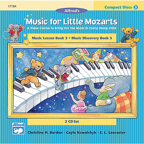 Alfred Music for Little Mozarts CD 2-Disk Sets for Lesson and Discovery Books Level 3 Level 3 thumbnail