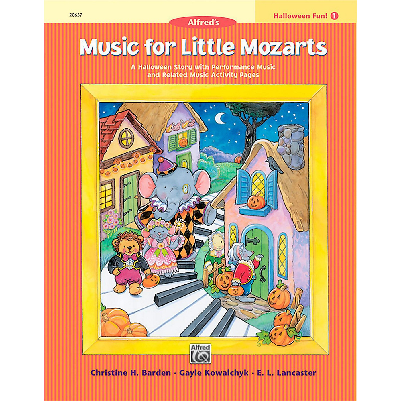 Alfred Music for Little Mozarts: Halloween Fun Book 1 thumbnail