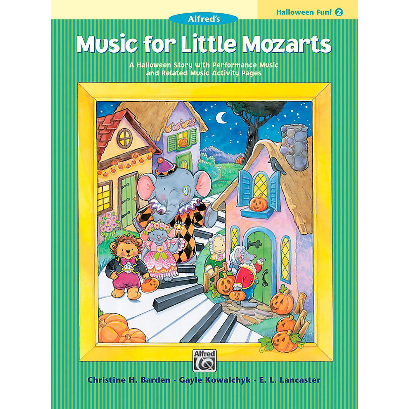 Alfred Music for Little Mozarts: Halloween Fun Book 2 thumbnail