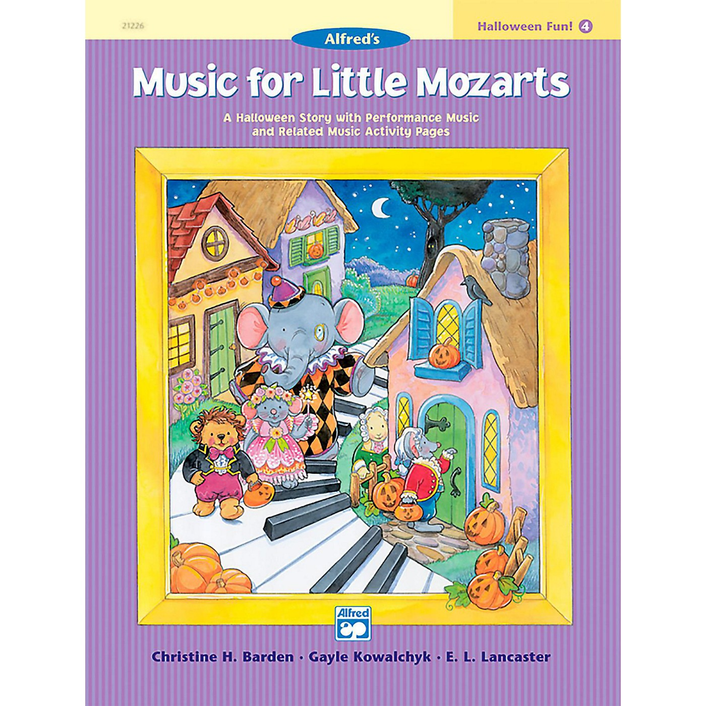Alfred Music for Little Mozarts: Halloween Fun Book 4 thumbnail