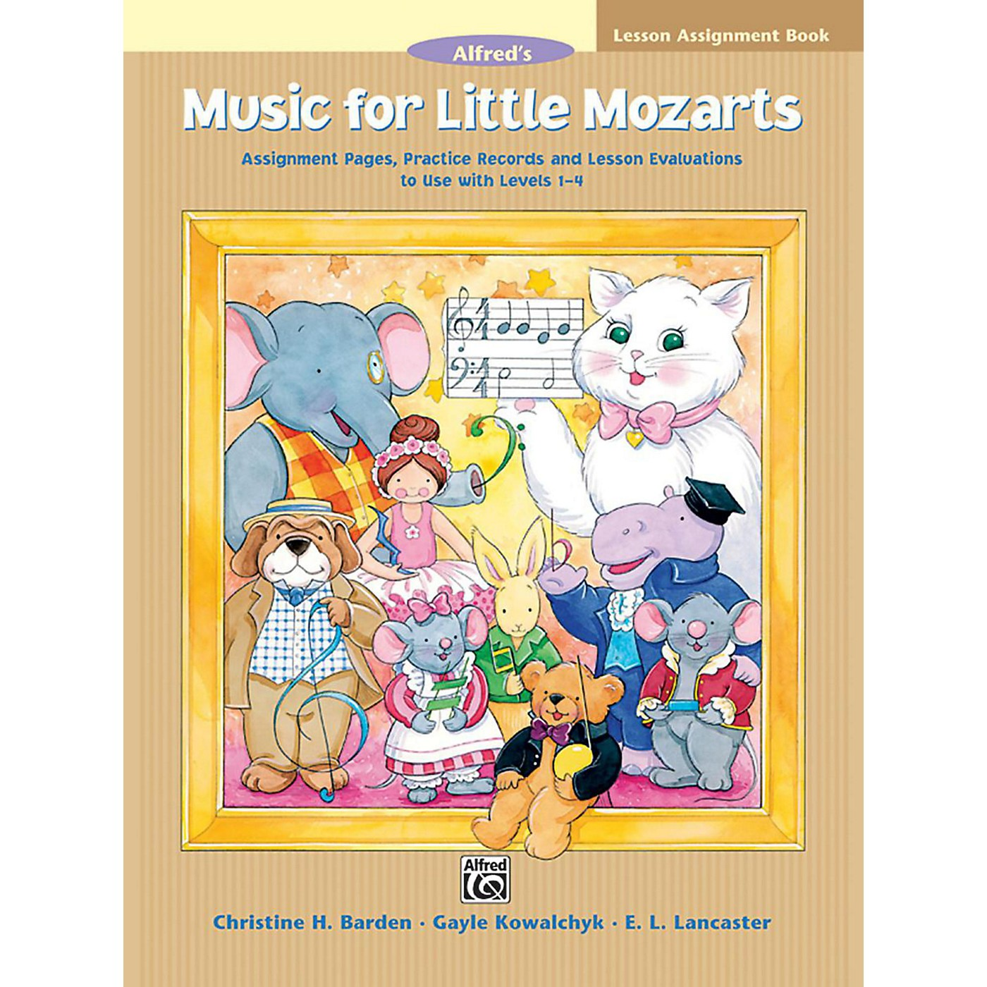 Alfred Music for Little Mozarts Lesson Assignment Book thumbnail