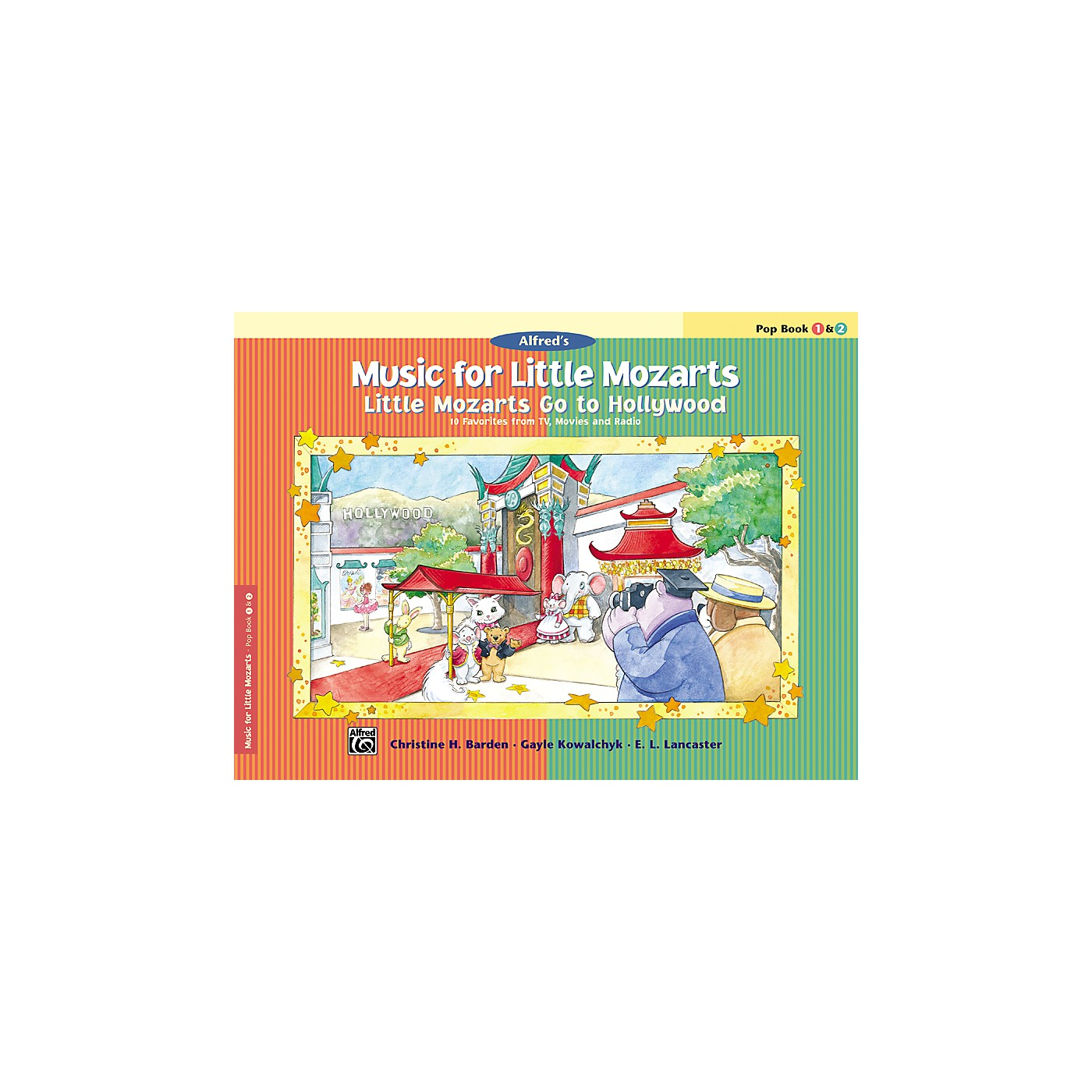 Alfred Music for Little Mozarts: Little Mozarts Go to Hollywood Pop Book 1 & 2 thumbnail