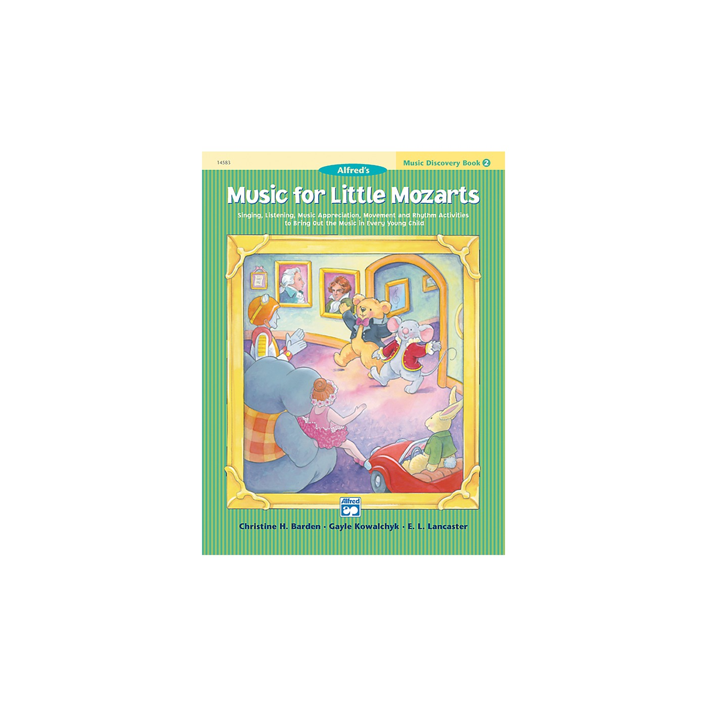 Alfred Music for Little Mozarts Music Discovery Book 2 thumbnail