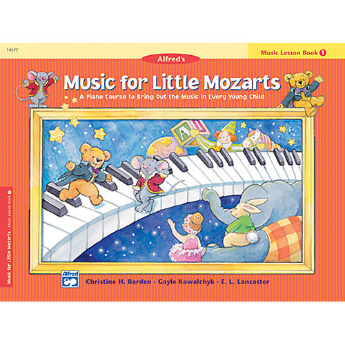 Alfred Music for Little Mozarts Music Lesson Book 1 thumbnail