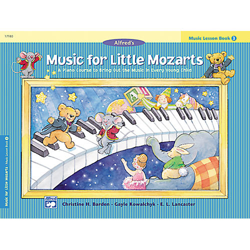 Alfred Music for Little Mozarts: Music Lesson Book 3 thumbnail