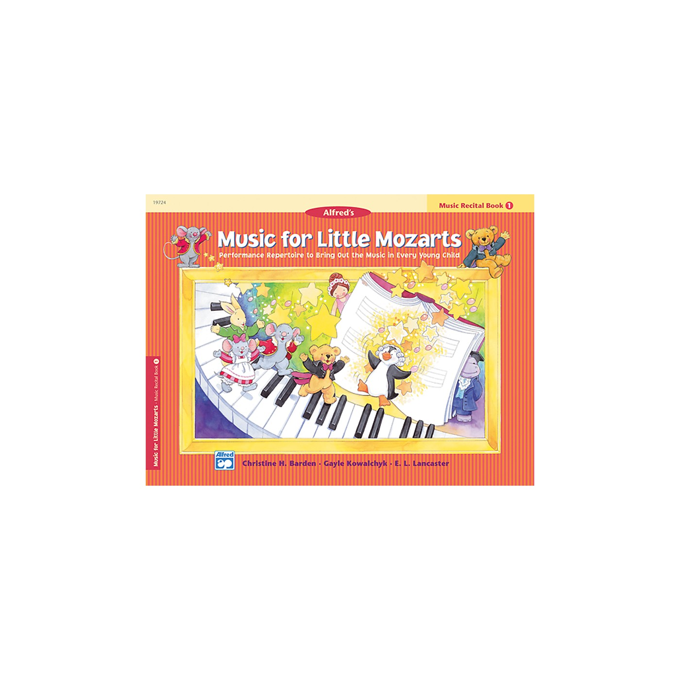 Alfred Music for Little Mozarts Music Recital Book 1 thumbnail