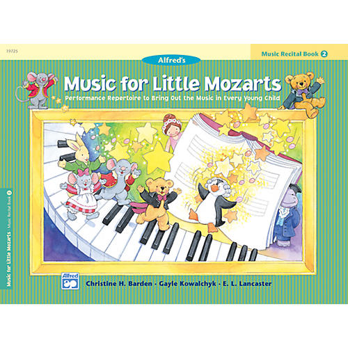 Alfred Music for Little Mozarts Music Recital Book 2 thumbnail