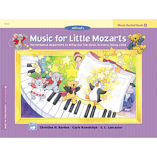 Alfred Music for Little Mozarts: Music Recital Book 4 thumbnail