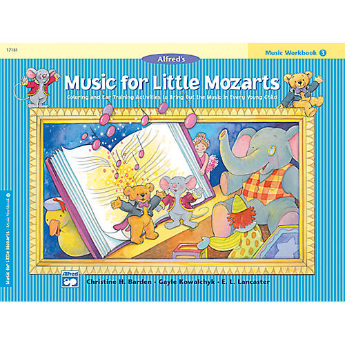 Alfred Music for Little Mozarts Music Workbook 3 Book 3 thumbnail
