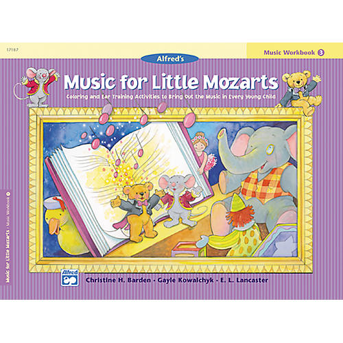 Alfred Music for Little Mozarts: Music Workbook 4 thumbnail