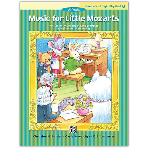 Alfred Music for Little Mozarts: Notespeller & Sight-Play Book 2 thumbnail