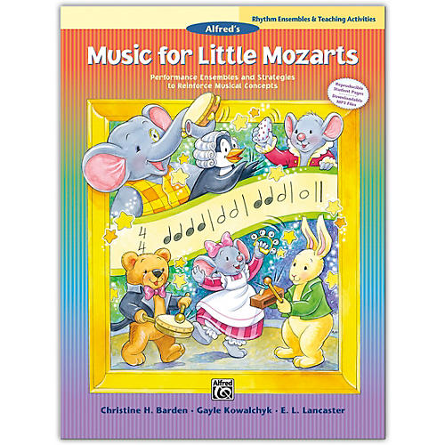 Alfred Music for Little Mozarts: Rhythm Ensembles & Teaching Activities Book Levels 1--4 thumbnail