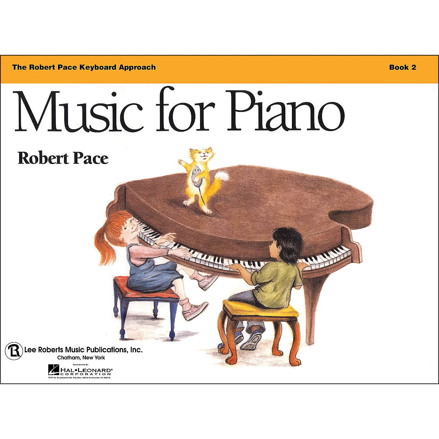 Hal Leonard Music for Piano - Book 2 Revised, Robert Pace Keyboard thumbnail