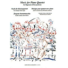Editio Musica Budapest Music for Piano Quartet for Beginners (3 Strings and Piano) EMB Series