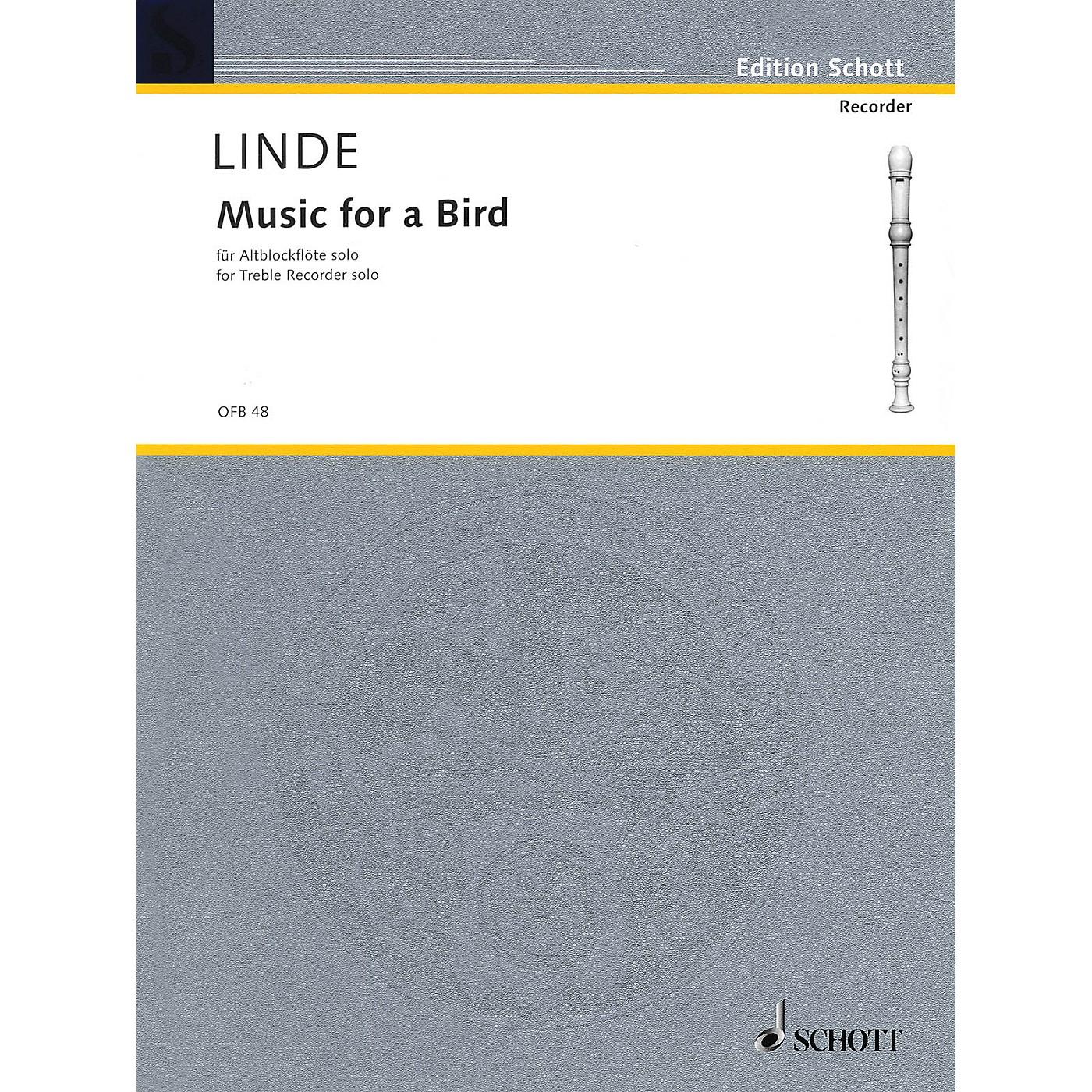 Schott Music for a Bird (for Treble Recorder) Schott Series thumbnail